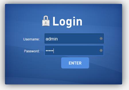 how to get admin password