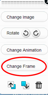 Trendy Change Frame